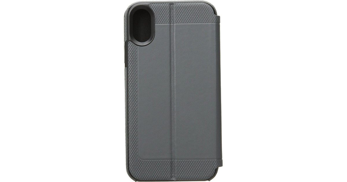online store c5e3a ac1ee Tumi Gray Folio Snap Case Iphone X (pewter) Cell Phone Case