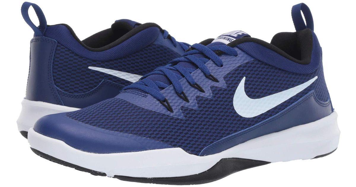 Nike Legend Trainer (deep Royal Blue/white/black) Men's Cross Training  Shoes for men