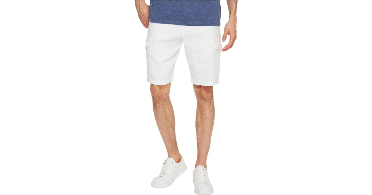 04a063293b Lyst - Tommy Bahama Beach Linen Cargo Shorts (stone Khaki) Men's Shorts in  White for Men