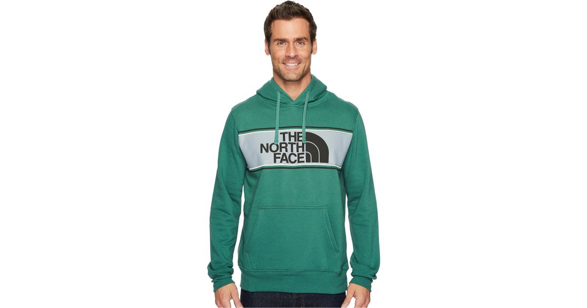 2e11951b8 The North Face Green Edge To Edge Pullover Hoodie for men