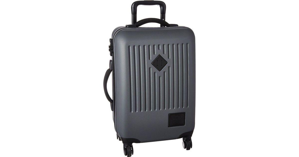 7c92e9da6906 Herschel Supply Co. Trade Carry-on (dark Shadow) Pullman Luggage in Gray  for Men - Lyst