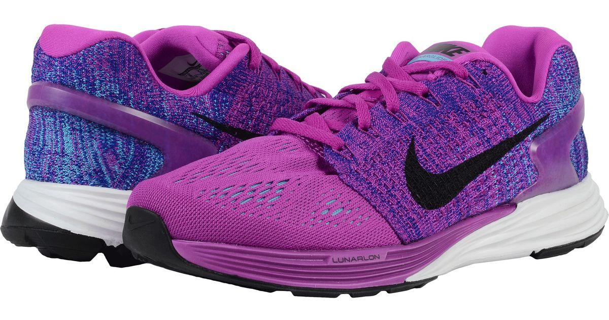 e83969fcccb77 Lyst - Nike Lunarglide 7 in Pink