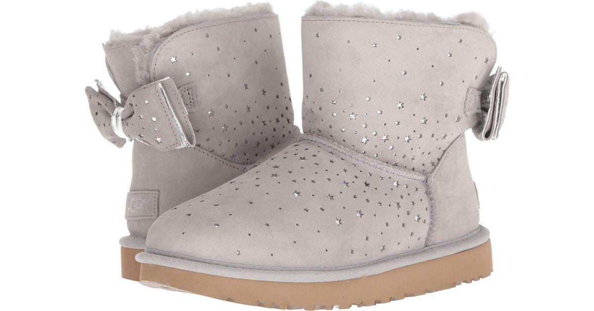 8e0dabbc128 Ugg Multicolor Stargirl Bow Mini (port) Women's Pull-on Boots