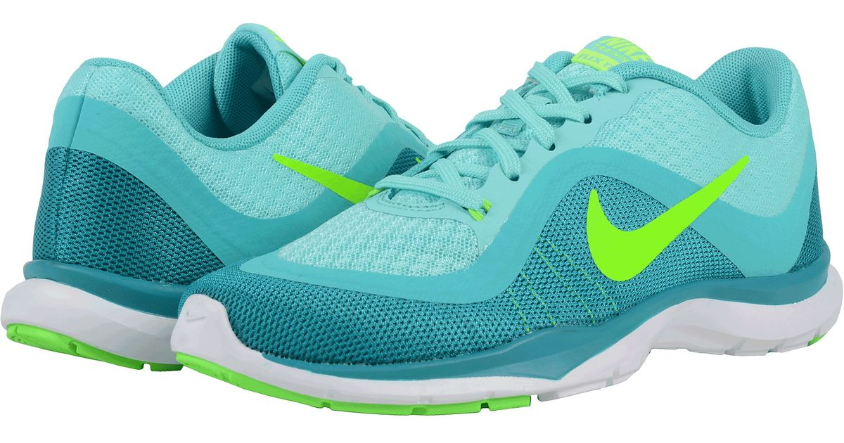 2f5a1313249b ... where can i buy lyst nike flex trainer 6 in green 2a1a4 3b8d0