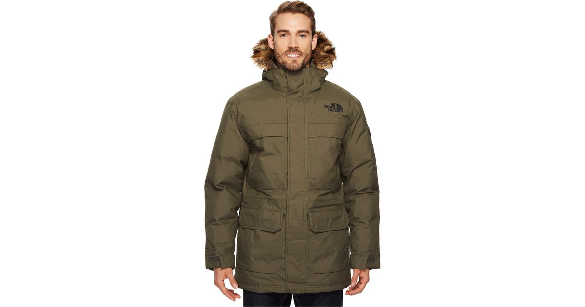 7150b7ca5 The North Face Green Mcmurdo Parka Iii for men