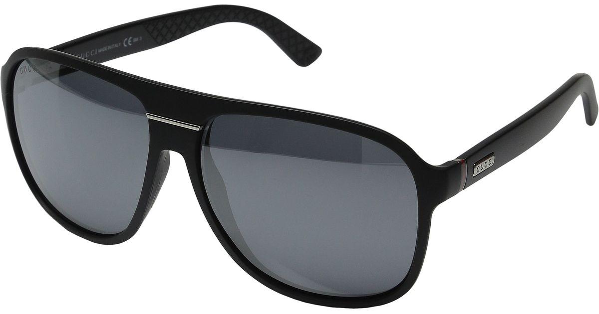 a13bf0d1fae Lyst - Gucci Gg 1076 n s in Black