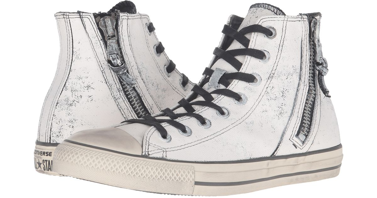 ea91599ae83cc2 Lyst - Converse Chuck Taylor® All Star® Side Zip Heavyweight Canvas Hi in  Natural for Men