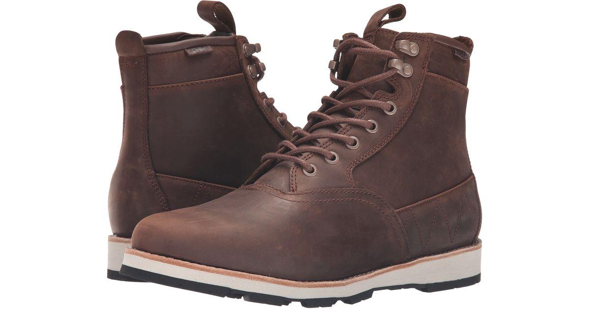 f9d2c6fc78 Vans Brown Fairbanks Boot for men