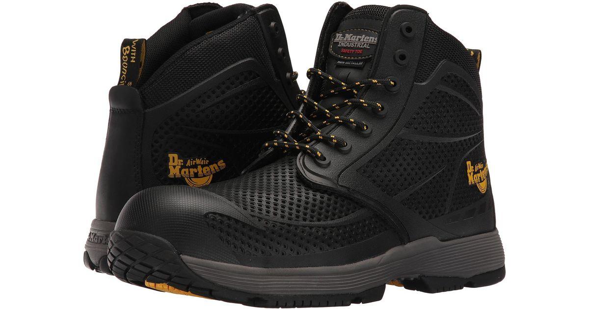 adbab4d166e Dr. Martens Multicolor Calamus Non-metallic Electrical Hazard Composite Toe  7-eye Boot for men