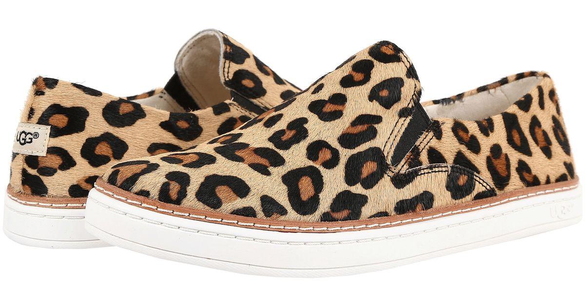 aaefcb4a531 UGG Brown Keile Calf Hair Leopard