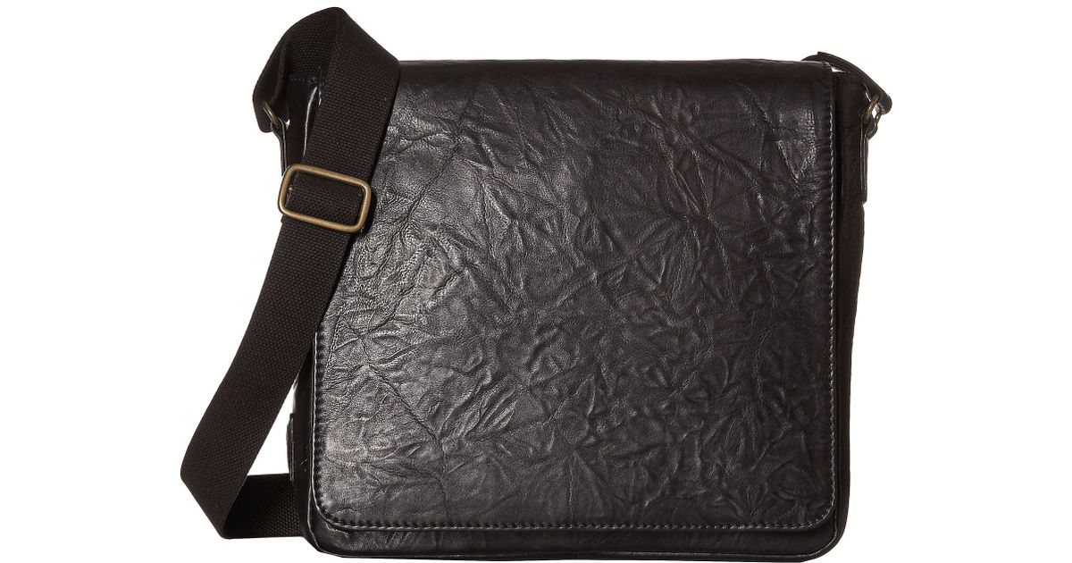 cce20a32e64cd3 Lyst - Scully Hidesign Ade Messenger Bag in Black for Men