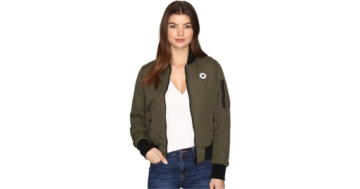 Converse core reversible ma 1 bomber jacket lyst