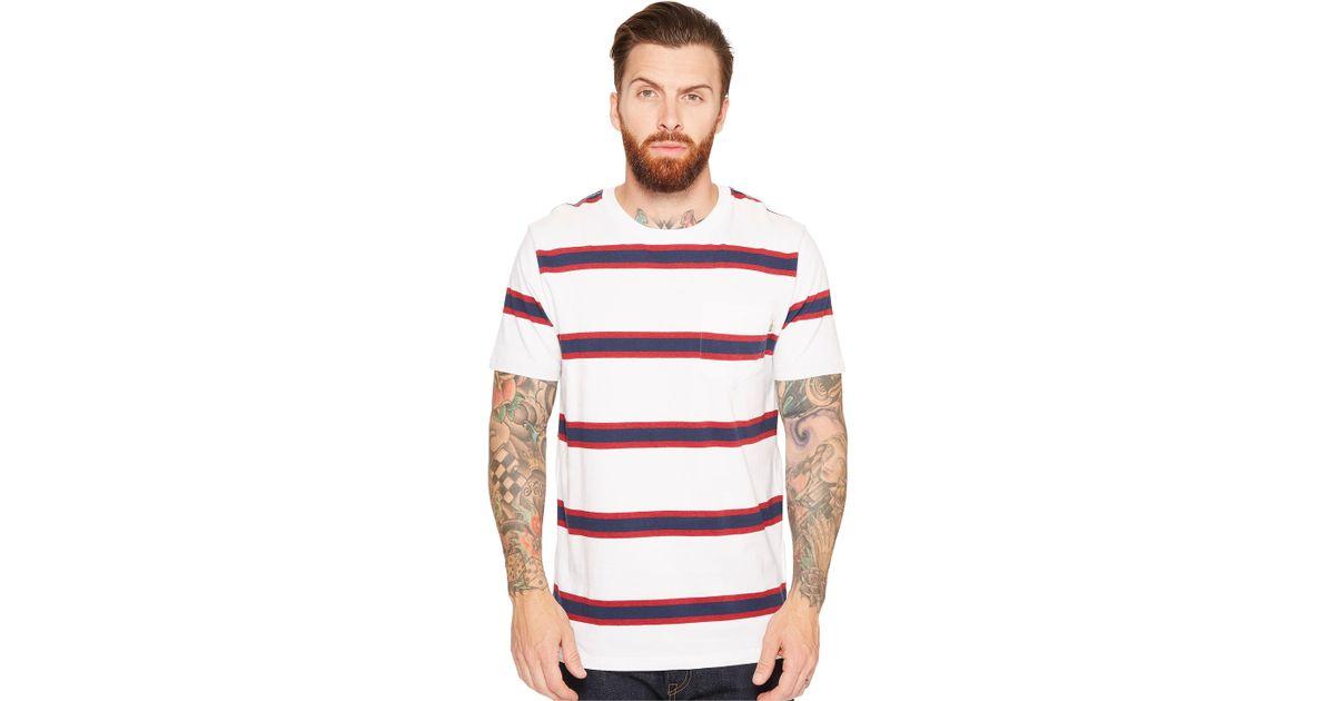 a68d26760a Lyst - Vans Belcaro Short Sleeve Knit in White for Men