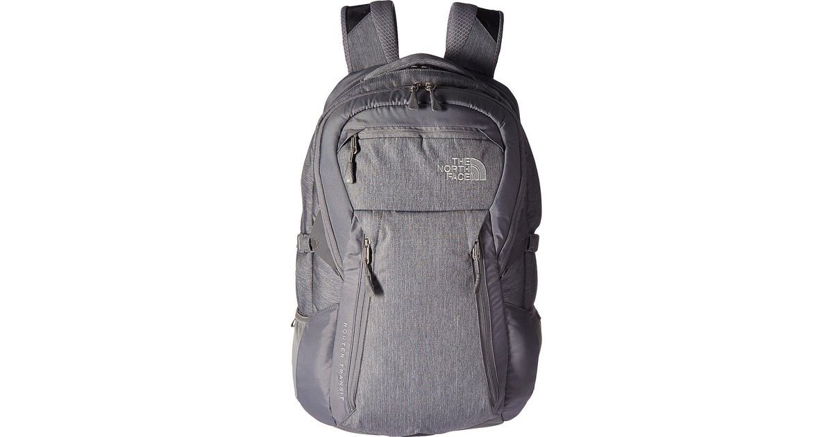 best price pretty cool website for discount The North Face Gray Router Transit Backpack for men