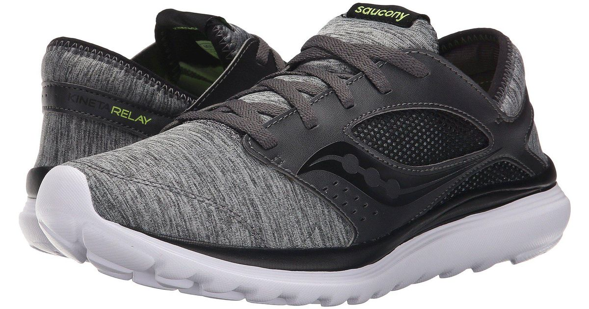 fa3352c0c6 Saucony Black Kineta Relay Running Shoe for men