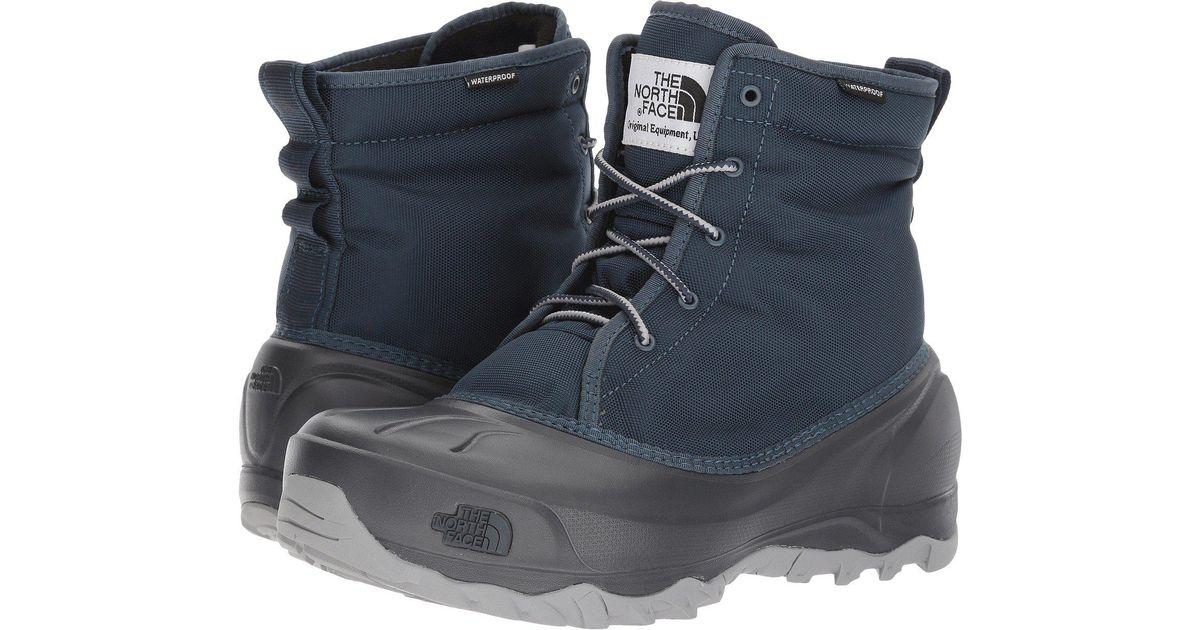 86ce56c5881 The North Face Blue Tsumoru (tnf Black/dark Gull Grey (prior Season))  Women's Shoes for men