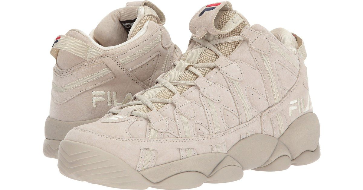 faf1112750f0 Lyst - Fila Spaghetti (black  Cream  Cream) Men s Shoes in Natural for Men