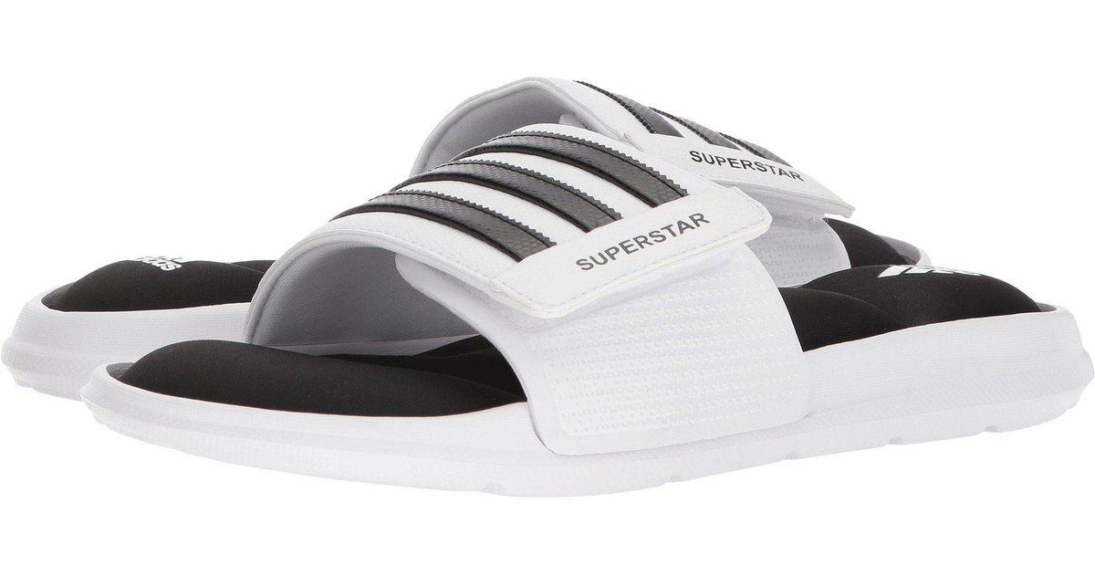 Adidas Superstar 5g (blackwhiteblack) Men's Slide Shoes for men