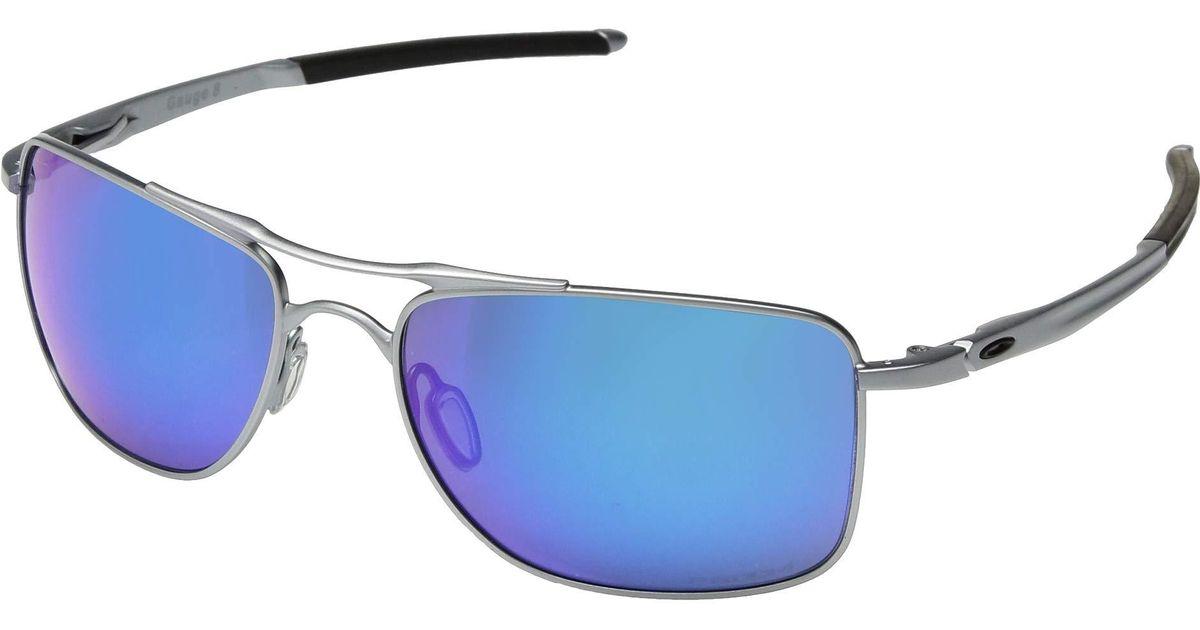 639bde403846 Lyst - Oakley Gauge 8 (matte Black prizm Ruby) Sport Sunglasses in Blue for  Men