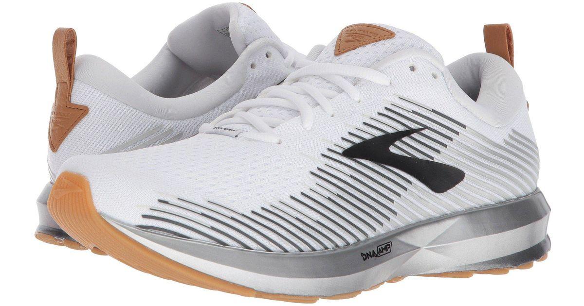 b47a122f7e5 Lyst - Brooks Levitate (white black grey) Men s Running Shoes for Men