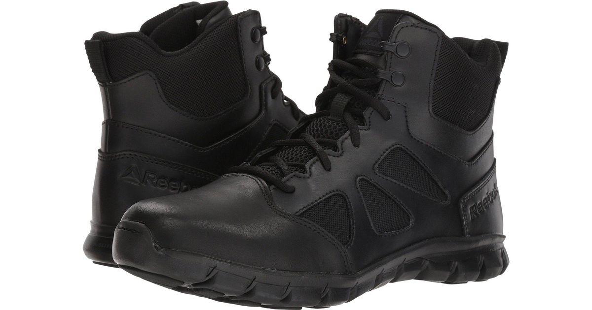 d43d2f989705b9 Lyst - Reebok Sublite Cushion Tactical 6 Boot (black) Men s Boots in Black for  Men