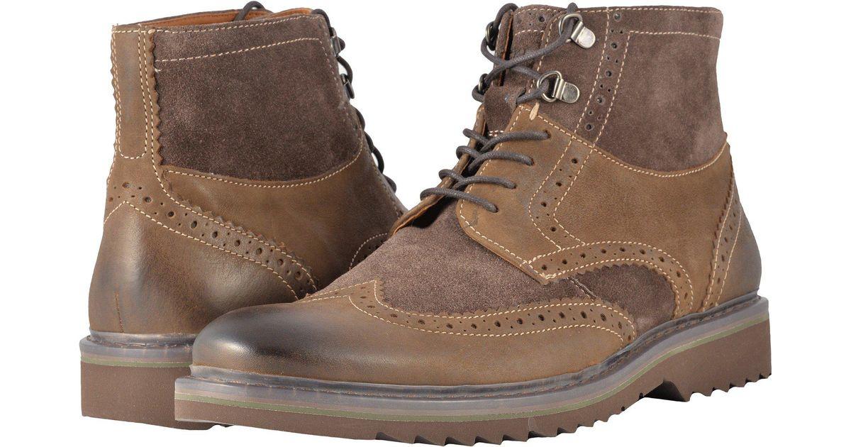 Rockport Leather Jaxson Wingtip Boot in