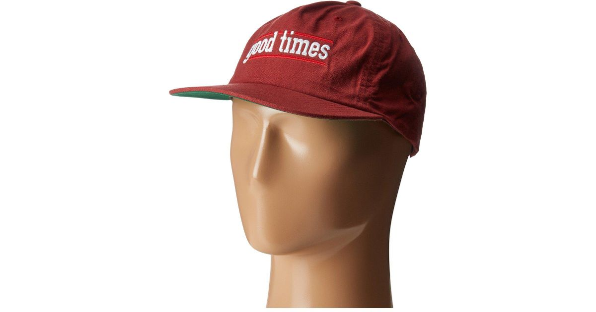 4ff6f4b30 Brixton - Red Times Mp Cap for Men - Lyst