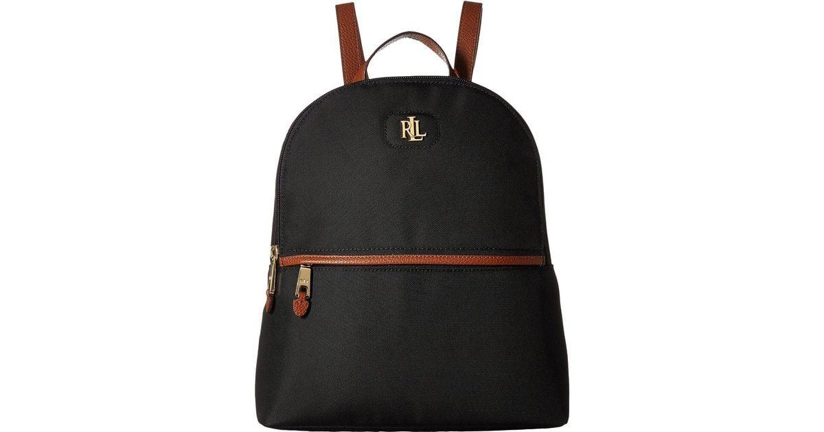 51f6977a64 Lyst - Lauren by Ralph Lauren Bainbridge Tami Backpack in Black
