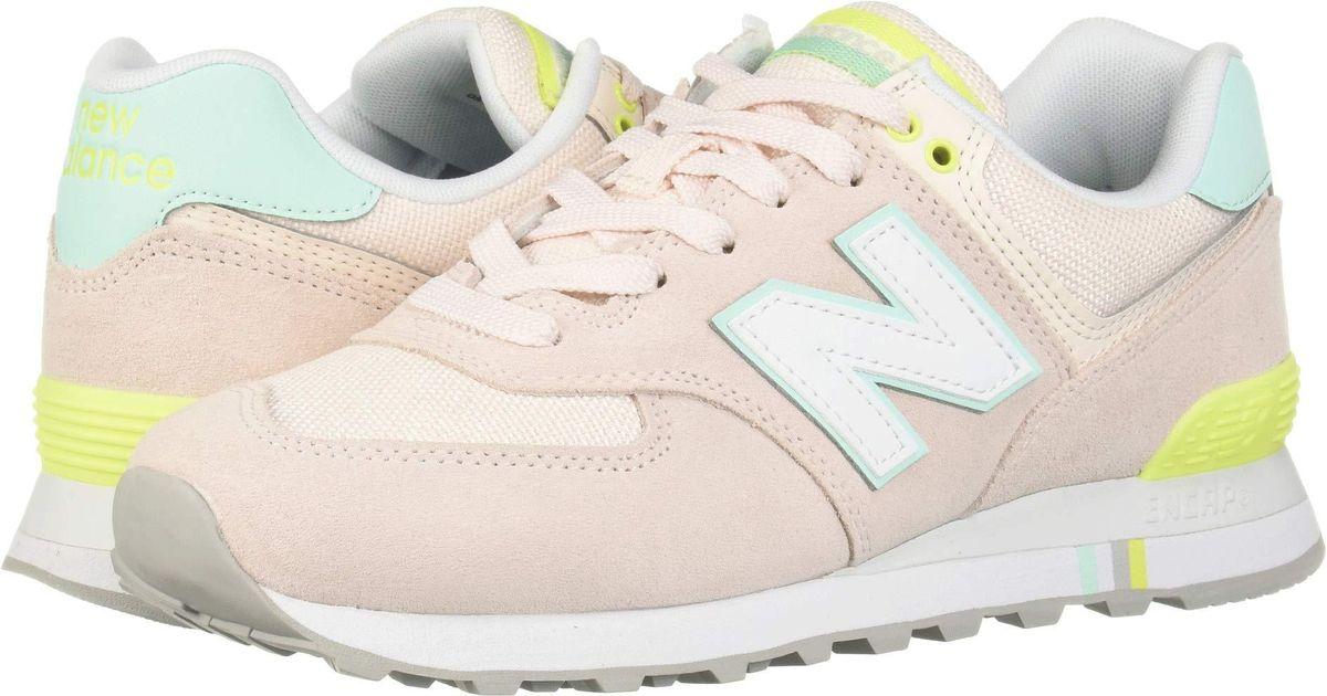 8602b258 New Balance Multicolor 574 Summer Shore (arctic Fox/pigment) Women's  Classic Shoes