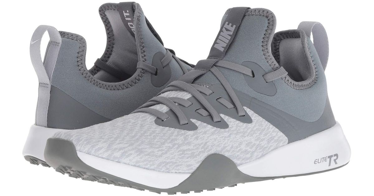 cbf0d8dd2a046 Nike Gray Foundation Elite Tr (cool Grey/wolf Grey/platinum Tint/white)  Cross Training Shoes