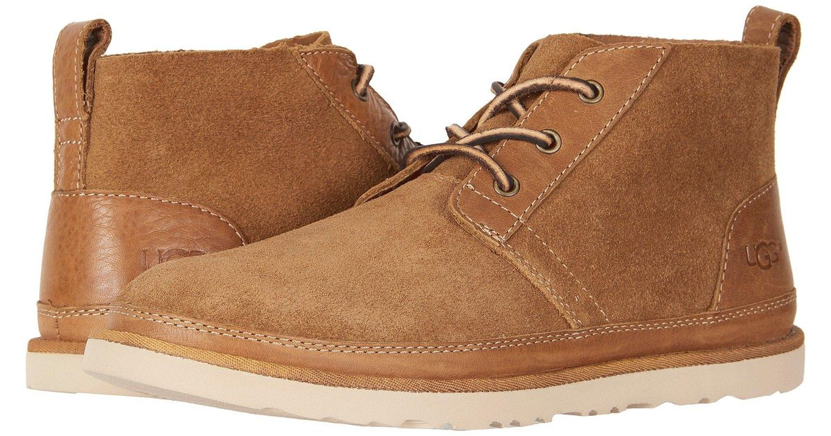 UGG Neumel Unlined Leather in Brown for