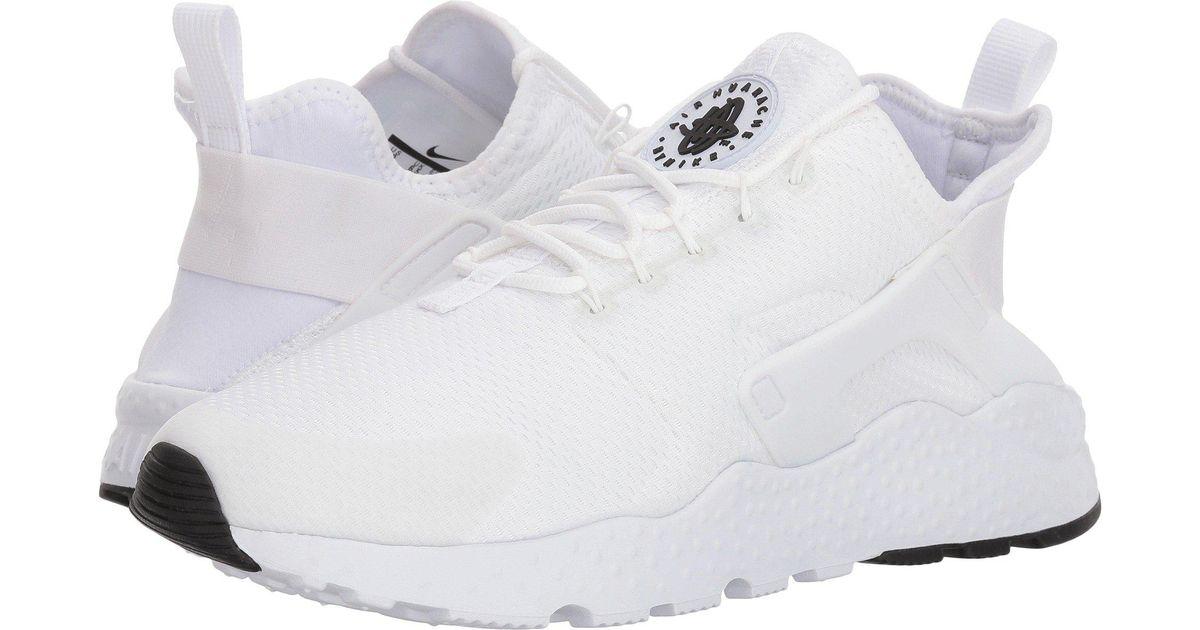 42dd3b43dd5d8 Lyst - Nike Air Huarache Run Ultra in White - Save 54%