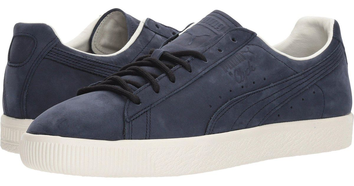 PUMA Leather Clyde Frosted in Night Sky