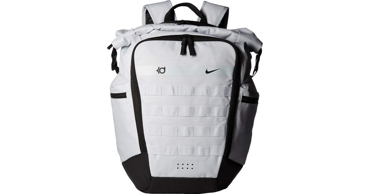 4e24c3d716e8 Nike Kd Trey 5 Backpack (pure Platinum black university Red) Backpack Bags  in Black for Men - Lyst