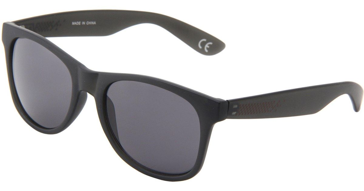 a399976246 Lyst - Vans Spicoli 4 Shades (matte Black silver Mirror) Sport Sunglasses  in Black
