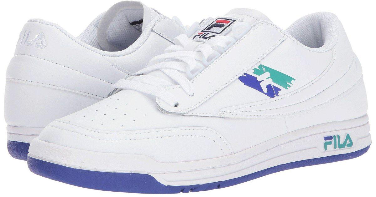 Fila Rubber Original Tennis Logo (white