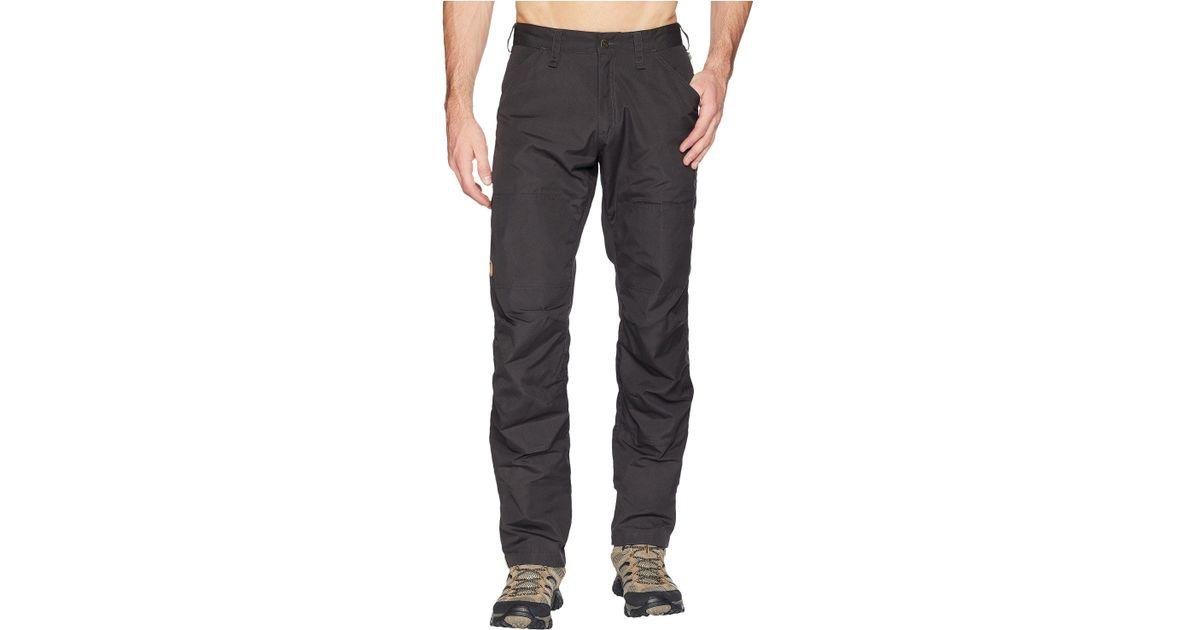 Luxus kaufen Neu werden High Fashion Fjallraven Gray Barents Pro Jeans In Dark Grey/dark Grey for men