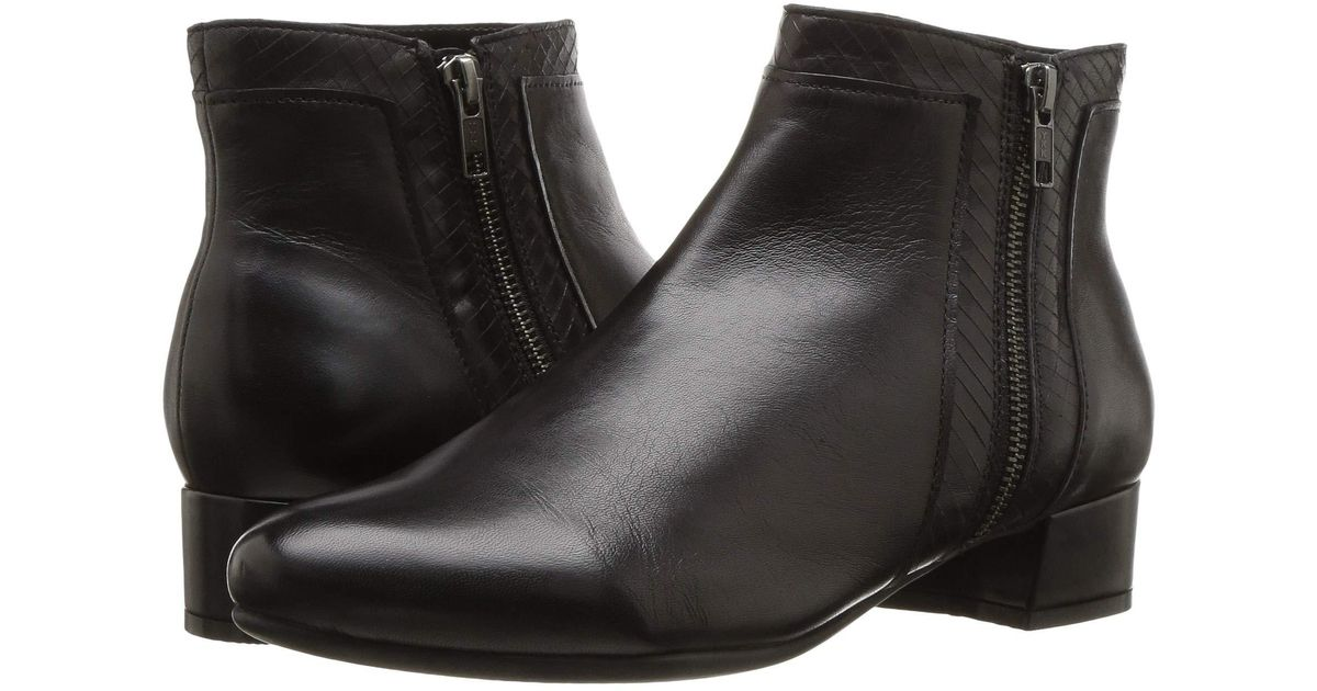 d9e56f8dda1 Rockport - Total Motion Raina Plain Boot (black) Women's Shoes - Lyst