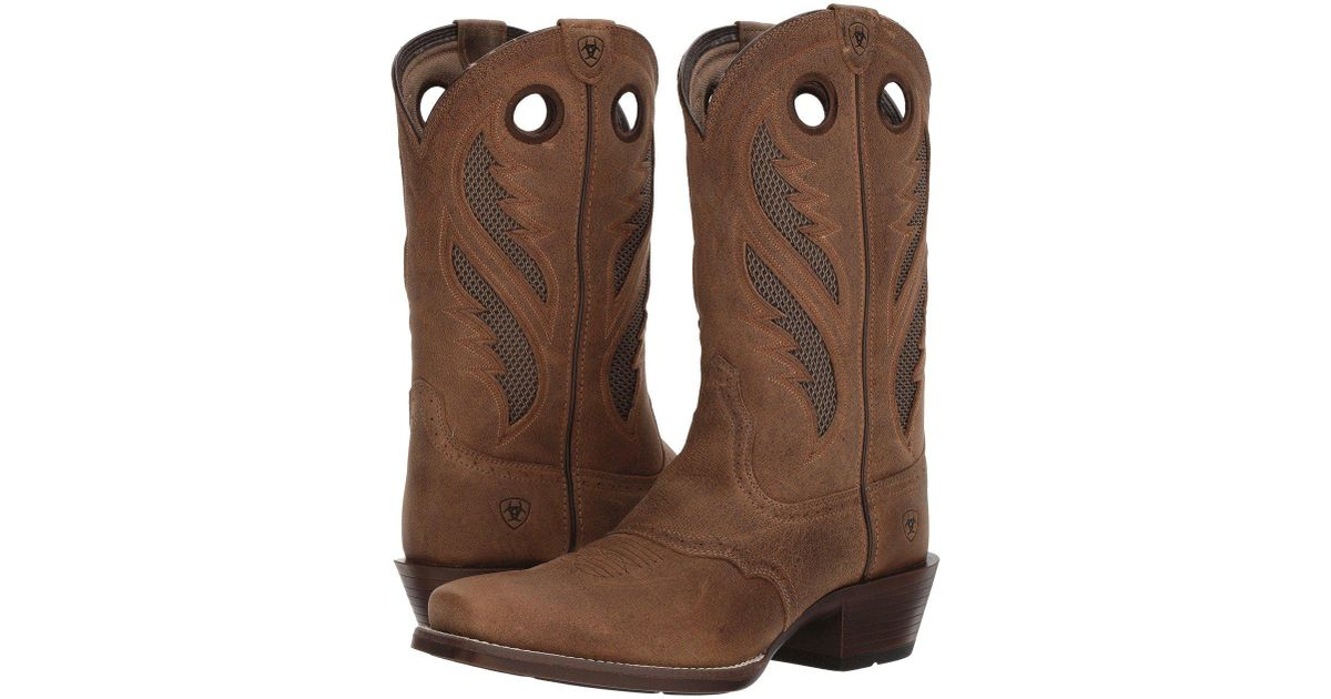 brand new 1951b 03821 Ariat Venttek Narrow Square Toe Ultra (antique Brown) Cowboy Boots for men