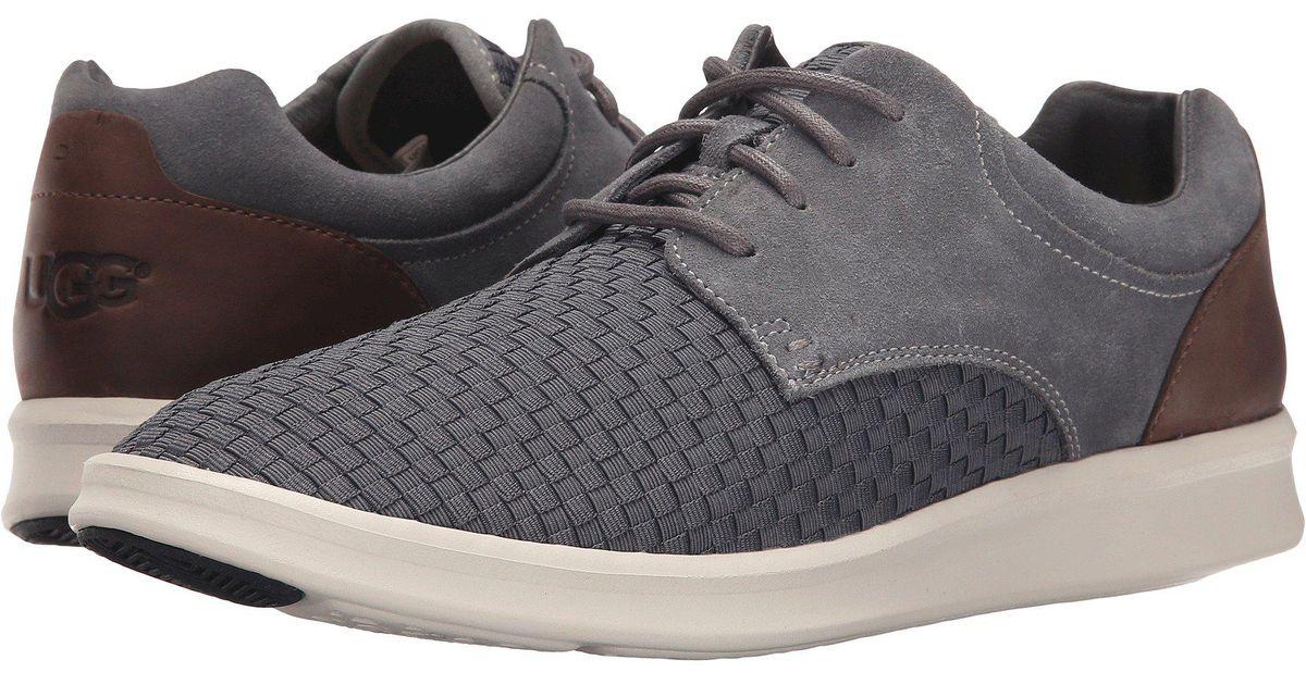 4de4b6bc0c4 Ugg Gray Hepner Woven (metal Nylon Suede) Men's Shoes for men