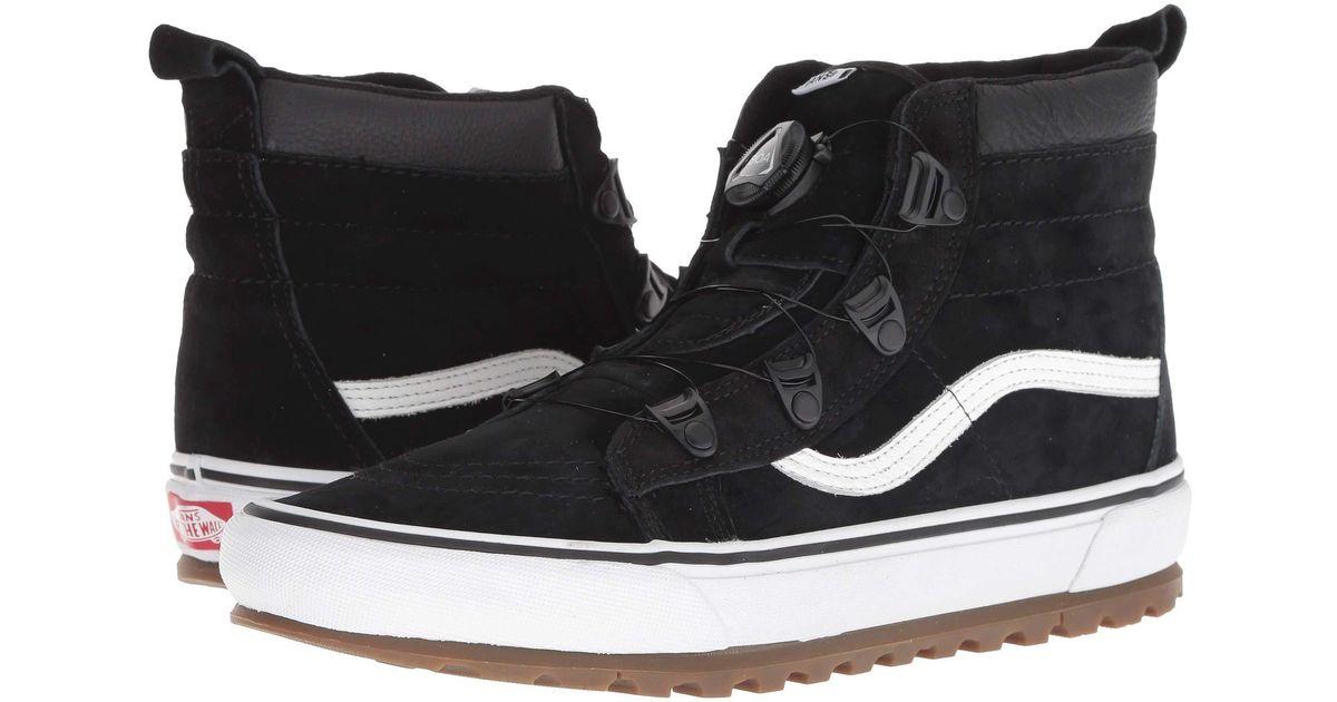 Vans Sk8-hi Mte Boa (black/true White) Shoes for men