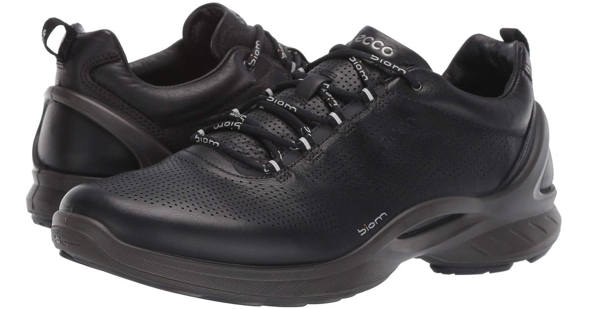 aff87fcf3f Ecco Biom Fjuel Train (dark Shadow) Men's Lace Up Casual Shoes in Black for  Men - Lyst