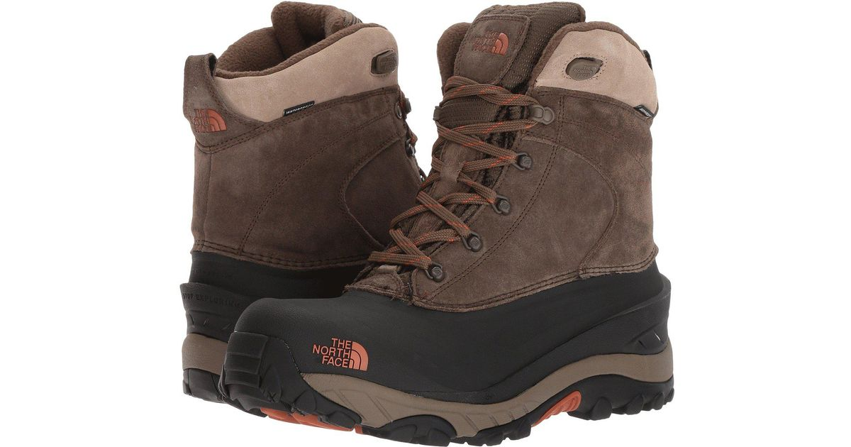 9dd7062fd The North Face Brown Chilkat Iii 200g Waterproof Winter Boots for men