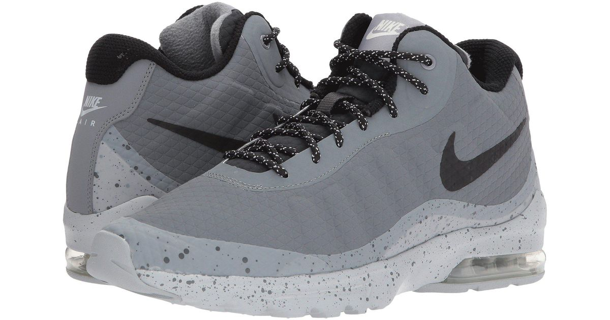sale online well known sports shoes Nike Gray Air Max Invigor Mid for men