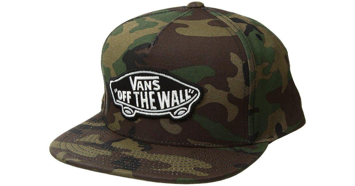 3d3d0a9d Vans Green Classic Path Snapback Hat for men