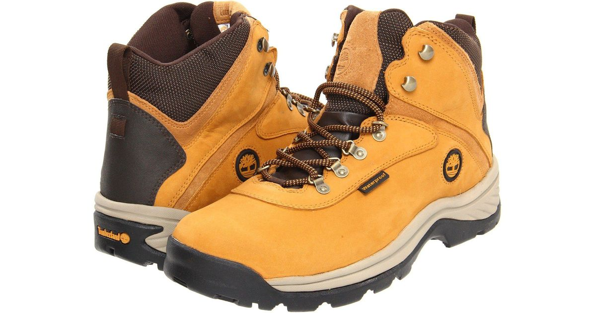 86327c254d6 Timberland Natural White Ledge Mid Waterproof (brown) Men's Hiking Boots  for men