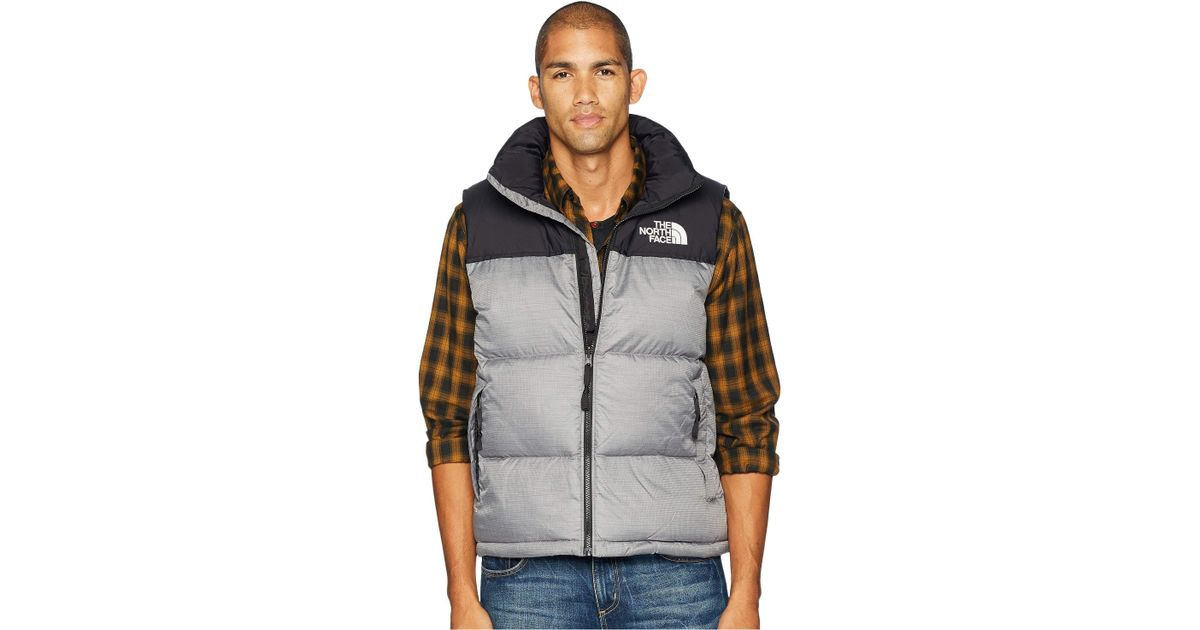 38642a5cf The North Face Gray 1996 Retro Nuptse Vest for men