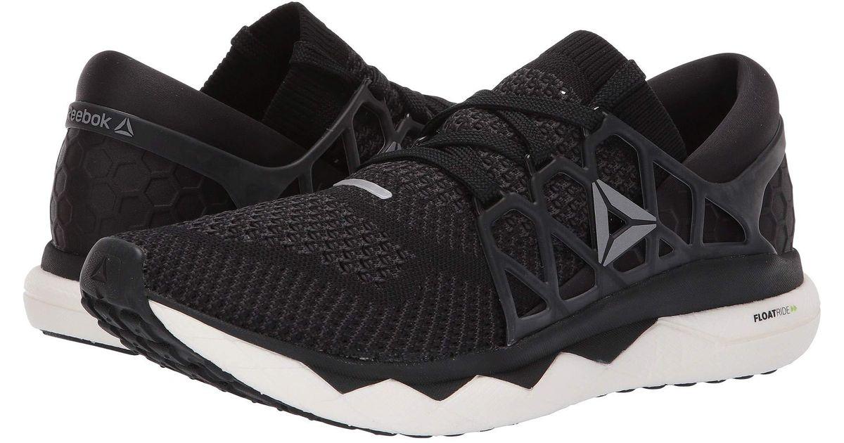 0004a48b576f Lyst - Reebok Floatride Run Ultk (black gravel white) Men s Running Shoes  in Black for Men