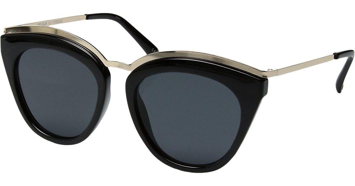50937f1489 Lyst - Le Specs Eye Slay (black) Fashion Sunglasses in Black