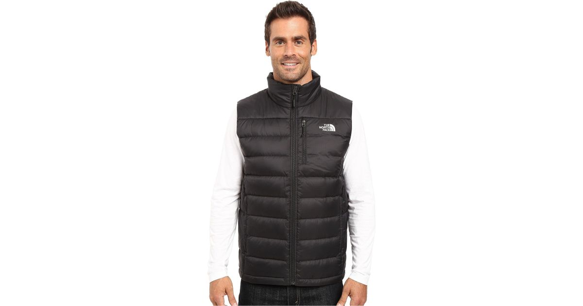 f0cbdc765 The North Face Multicolor Aconcagua Vest (mid Grey) Men's Vest for men